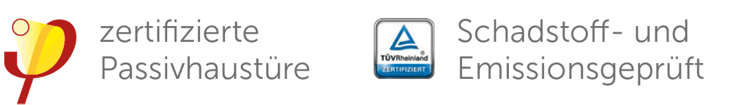 Signete Passivhaus TÜV
