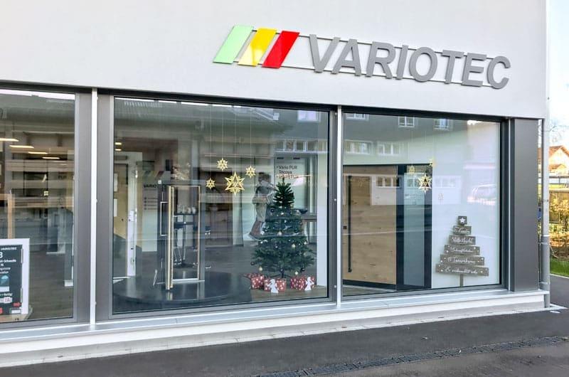 Die neue Variotec Türen-Ausstellung in Dagmersellen