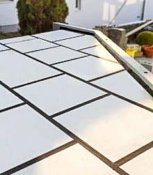 Balkon-, Terrassen- und Flachdachdämmung mit VIP-Isoaltions-Paneelen