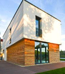 Aussendämmung Fassade mit Vakuum-Isolation